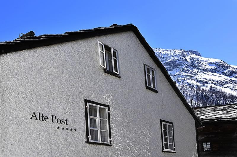 Ferienwohnung Alte Post in Saas-Fee